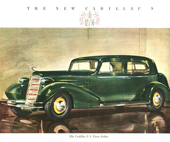 Cadillac V8 Town Sedan 1934 | Vintage Cars 1891-1970
