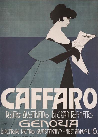 Caffaro Genova Newspaper Italy Italia | Sex Appeal Vintage Ads and Covers 1891-1970