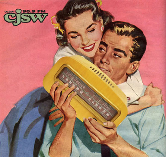 Calgary CJSW 90 9 FM Radio | Sex Appeal Vintage Ads and Covers 1891-1970