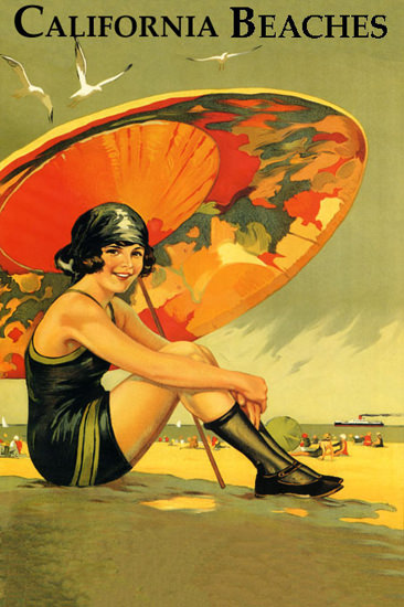 California Beaches 1920s | Sex Appeal Vintage Ads and Covers 1891-1970