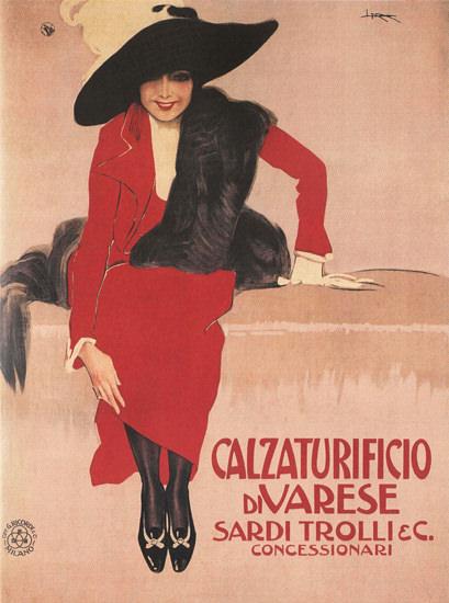 Calzaturificio Di Varese Sardi Trolli Italy Italia | Sex Appeal Vintage Ads and Covers 1891-1970