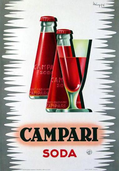Campari Soda 1924 | Vintage Ad and Cover Art 1891-1970