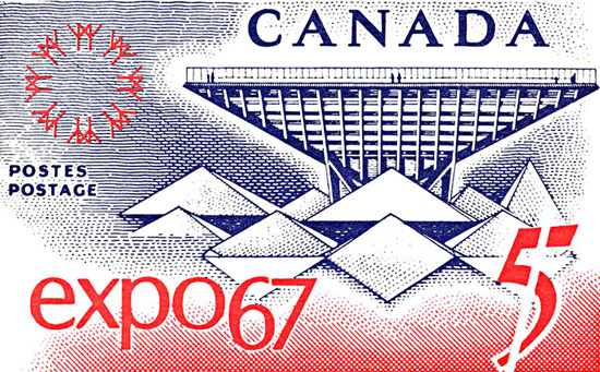 Canada Expo 1967 Montreal | Vintage Ad and Cover Art 1891-1970