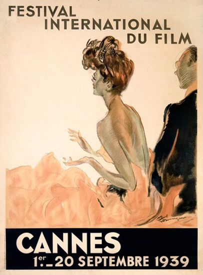 Cannes Festival International Du Film 1939 | Sex Appeal Vintage Ads and Covers 1891-1970