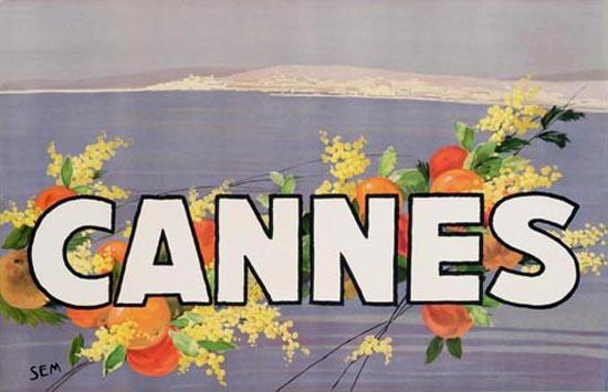 Cannes Oranges Draeger Imp 1930 | Vintage Travel Posters 1891-1970