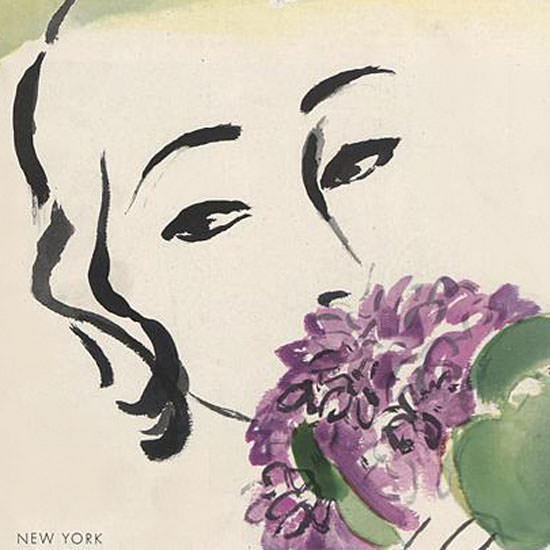 Carl Erickson Vogue Cover 1931-05-01 Copyright crop | Best of Vintage Cover Art 1900-1970