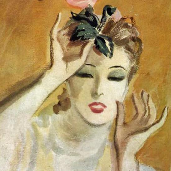 Carl Erickson Vogue Cover 1937-11-01 Copyright crop   Best of Vintage Cover Art 1900-1970