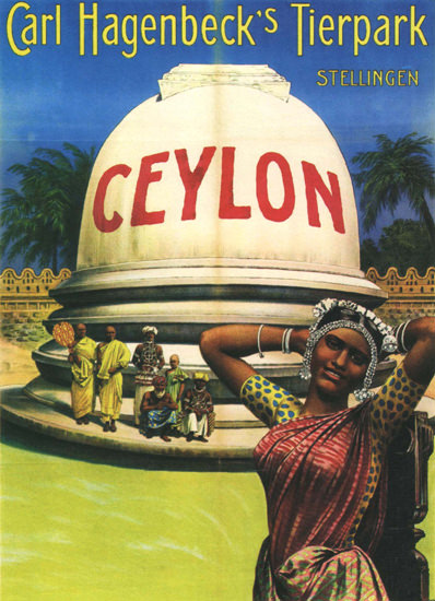 Carl Hagenbecks Tierpark Stellingen Ceylon | Sex Appeal Vintage Ads and Covers 1891-1970