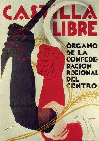 Castilla Libre Spain Espana | Vintage War Propaganda Posters 1891-1970