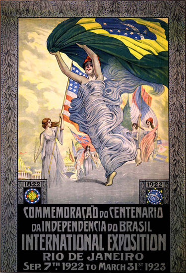 Centenario Da Independencia Do Brasil 1922 Rio | Sex Appeal Vintage Ads and Covers 1891-1970