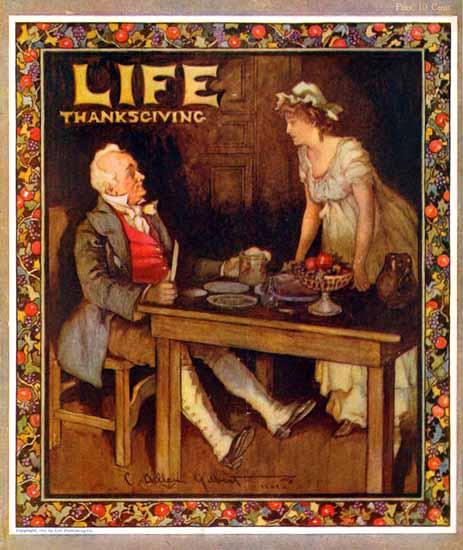 Charles Allan Gilbert Life Humor Magazine 1904-11-03 Copyright | Life Magazine Graphic Art Covers 1891-1936