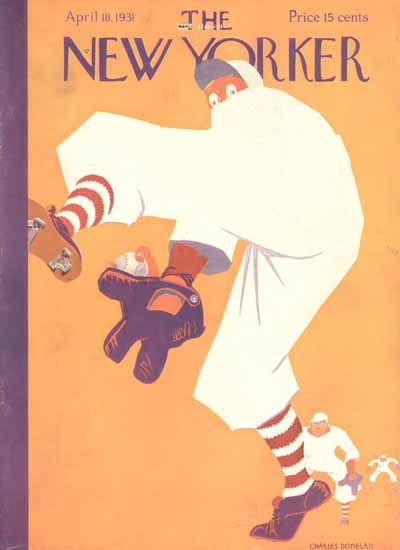 Charles Donelan The New Yorker 1931_04_18 Copyright | The New Yorker Graphic Art Covers 1925-1945