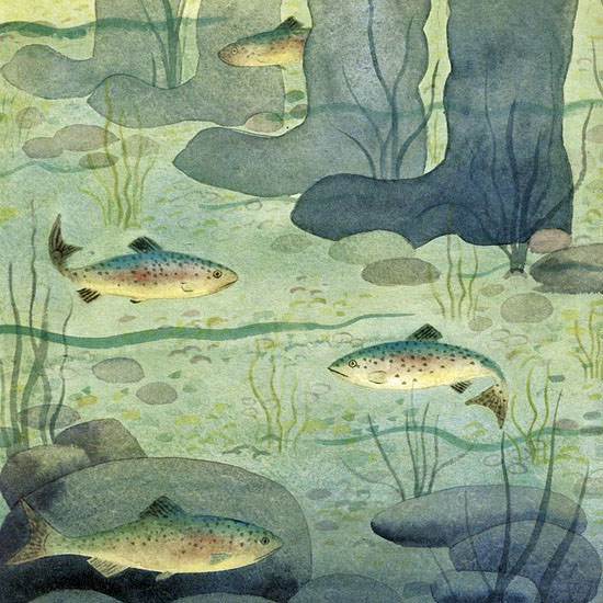 Charles E Martin The New Yorker 1959_05_02 Copyright crop | Best of Vintage Cover Art 1900-1970
