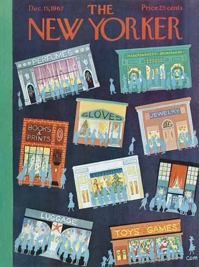 Charles E Martin The New Yorker 1962_12_15 Copyright | The New Yorker Graphic Art Covers 1946-1970