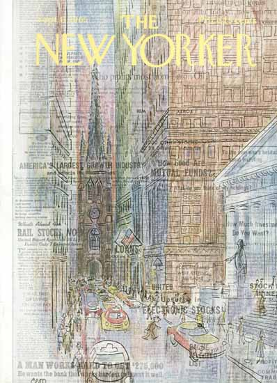 Charles E Martin The New Yorker 1965_09_11 Copyright | The New Yorker Graphic Art Covers 1946-1970