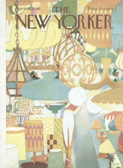 Charles E Martin The New Yorker 1966_04_23 Copyright | The New Yorker Graphic Art Covers 1946-1970