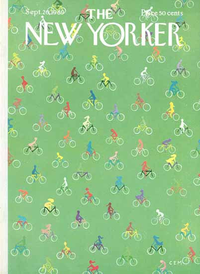Charles E Martin The New Yorker 1969_09_20 Copyright | The New Yorker Graphic Art Covers 1946-1970