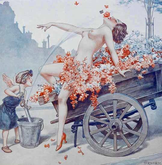 Cheri Herouard La Vie Parisienne 1932 Epanouissement page Sex Appeal | Sex Appeal Vintage Ads and Covers 1891-1970