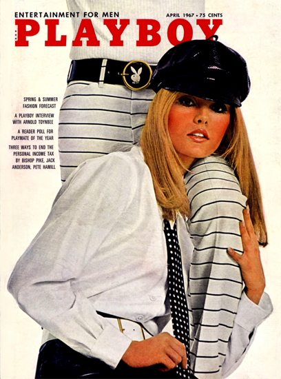 Cheryl Shrode Playboy Magazine 1967-04 Copyright Sex Appeal | Sex Appeal Vintage Ads and Covers 1891-1970