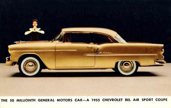 Chevrolet Bel Air Sport 1955 50 Millionth GM | Vintage Cars 1891-1970