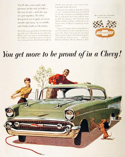 Chevrolet Belair Coupé 1957 Proud In A Chevy | Vintage Cars 1891-1970