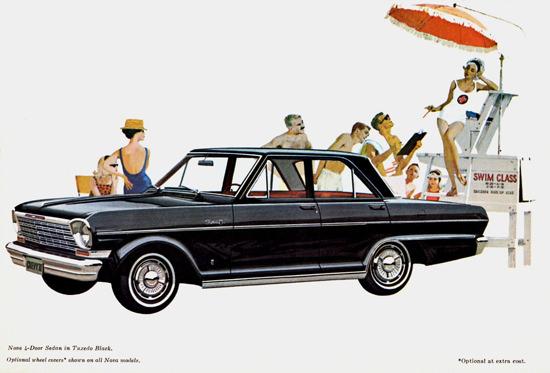 Chevrolet Chevy II Nova 4 Door Sedan 1964 | Vintage Cars 1891-1970