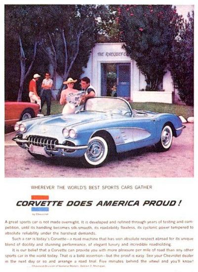 Chevrolet Corvette 1958 Does America Proud | Vintage Cars 1891-1970