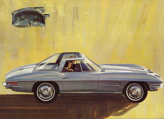 Chevrolet Corvette Explorer II 1964 Rohm Haas | Vintage Cars 1891-1970