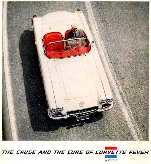 Chevrolet Corvette Fever Cause And Cure 1959 | Vintage Cars 1891-1970