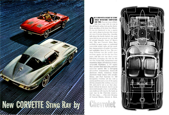 Chevrolet Corvette Sting Ray 1963 | Vintage Cars 1891-1970