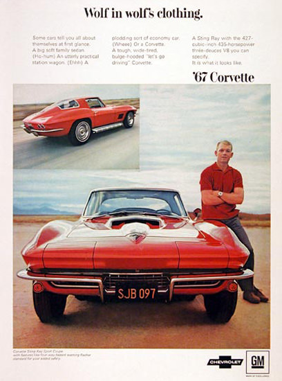 Chevrolet Corvette Sting Ray  435 HP 1967 | Vintage Cars 1891-1970