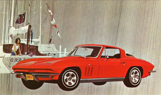 Chevrolet Corvette Sting Ray Coupe 1966 | Vintage Cars 1891-1970