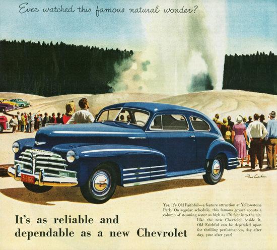 Chevrolet Fleetline Aerosedan 1948 | Vintage Cars 1891-1970