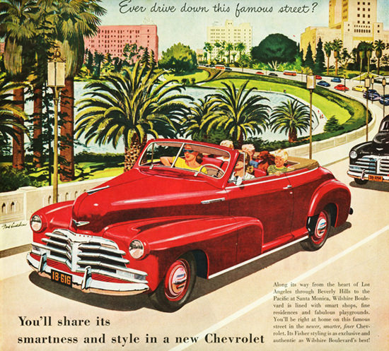 Chevrolet Fleetmaster Convertible 1948 | Vintage Cars 1891-1970