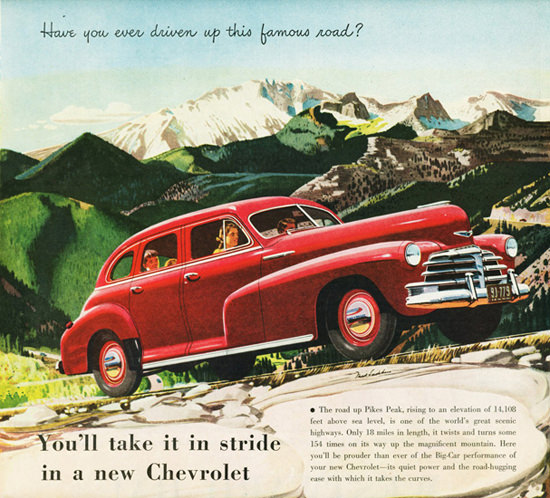 Chevrolet Fleetmaster Sport Sedan 1948 | Vintage Cars 1891-1970