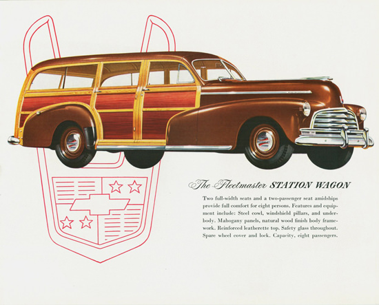 Chevrolet Fleetmaster Station Wagon 1946 | Vintage Cars 1891-1970