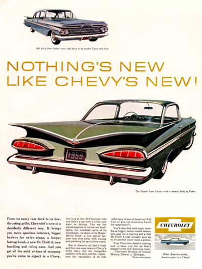 Chevrolet Impala 1959 Chevys New Green | Vintage Cars 1891-1970