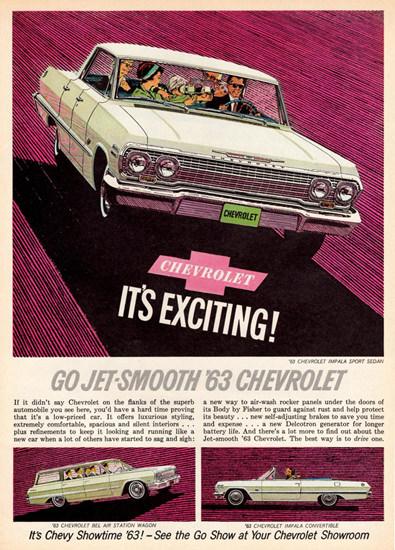 Chevrolet Impala 1963 Jet Smooth | Vintage Cars 1891-1970