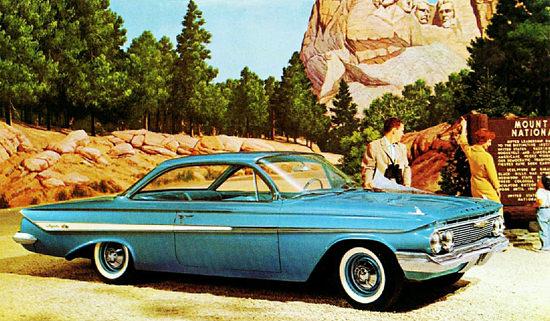 Chevrolet Impala Sport 1961 Mount Rushmore | Vintage Cars 1891-1970