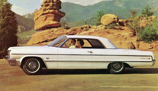 Chevrolet Impala Sport Coupe 1964 | Vintage Cars 1891-1970