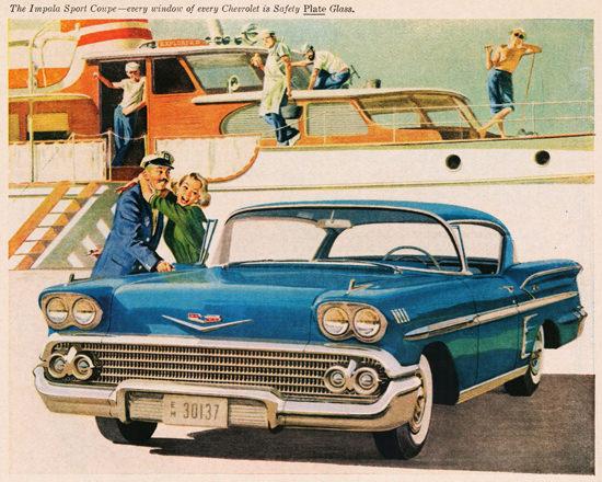 Chevrolet Impala Sport Coupe 31 Model 1958 | Vintage Cars 1891-1970