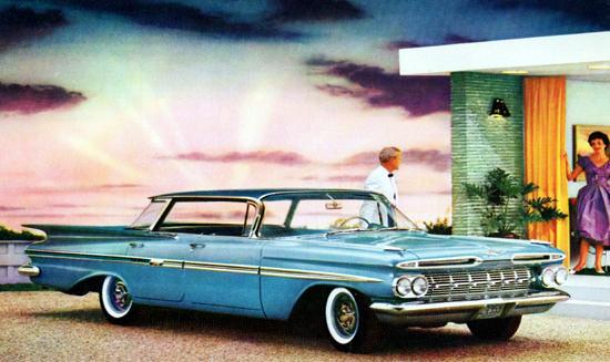 Chevrolet Impala Sport Sedan 1959   Vintage Cars 1891-1970