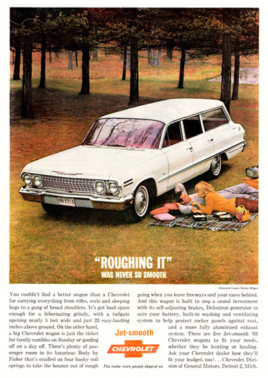 Chevrolet Impala Station 1963 Roughing It   Vintage Cars 1891-1970