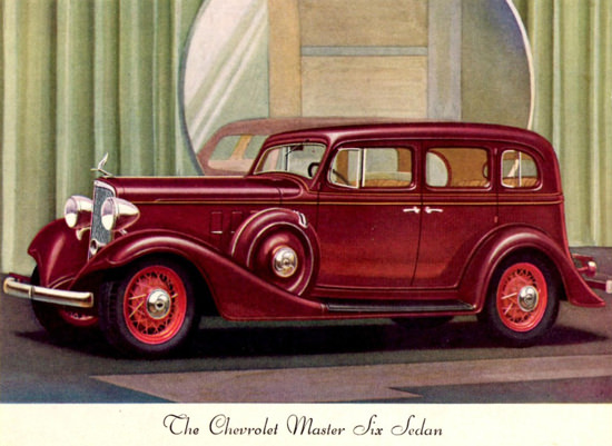 Chevrolet Master Six 21 Sedan 1933 | Vintage Cars 1891-1970