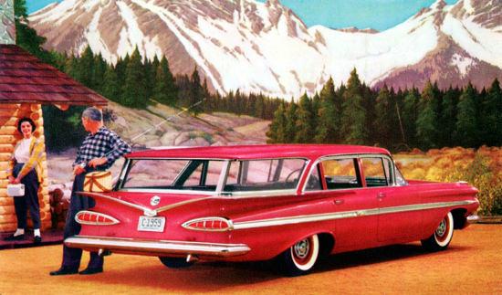 Chevrolet Nomad Station Wagon 1959 | Vintage Cars 1891-1970