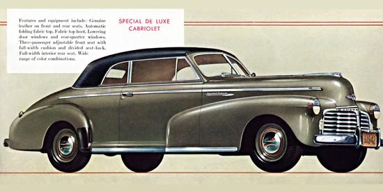 Chevrolet Special De Luxe Cabriolet 1942   Vintage Cars 1891-1970