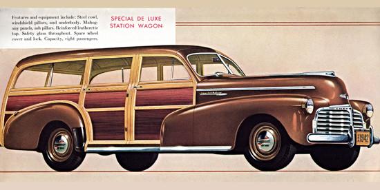 Chevrolet Special Station 1942 Mahagony   Vintage Cars 1891-1970