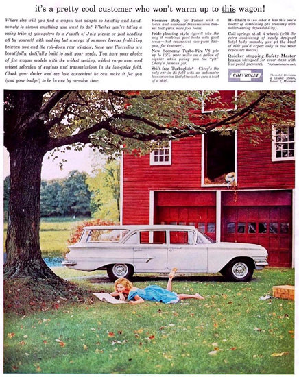 Chevrolet Station Wagon 1960 | Vintage Cars 1891-1970