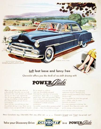 Chevrolet Styleline 1951 Left Foot Loose Power | Vintage Cars 1891-1970