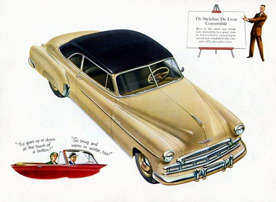 Chevrolet Styleline De Luxe Convertible 1949 | Vintage Cars 1891-1970
